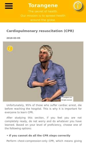 Torangene first aid guidelines