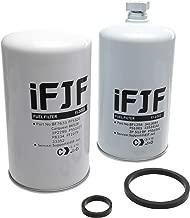 iFJF Fuel Filter Set FS1001 FF5320 for Cummins Diesel Engine Replace OEM 3413084 BF7633 FF5320