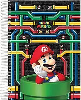 Caderno 10 Matérias Capa Dura, Pacote com 4 Cadernos, Capas Sortidas, 200 Folhas, Foroni, Modelo 9491