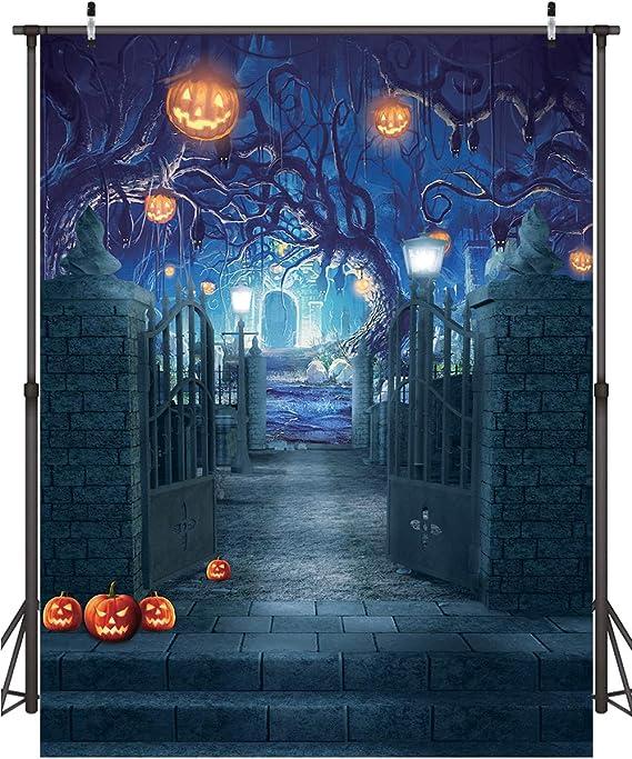 Dudaacvt 1 8 X 2 4 M Halloween Fotografie Hintergrund Kamera