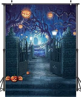 Dudaacvt 1,8 x 2,4 m Halloween Fotografie Hintergrund Halloween Dekorationen Hintergrund für Fotografie Horrible Party Hintergrund Foto Studio Booth Requisiten D210