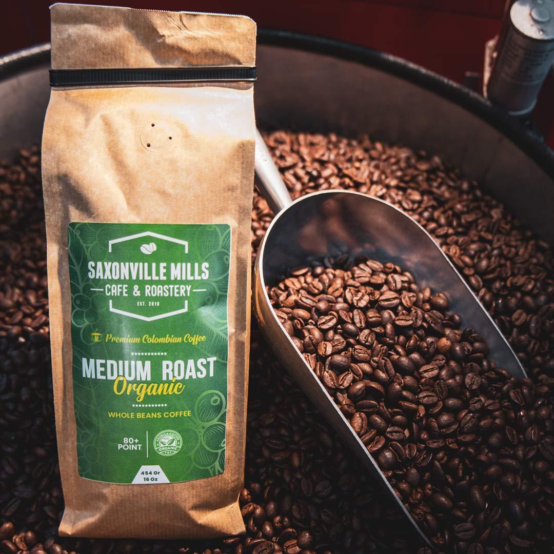 Organic Coffee Medium Roast - beans Arabica Whole 100% Louisville-Jefferson County Mall Max 77% OFF C