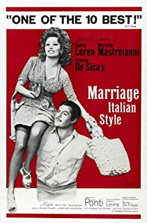 Best marriage italian style movie poster Reviews