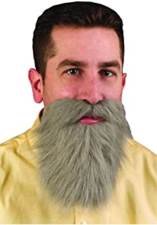 Fun World Adult Mens Facial Hair Beard and Moustache Mustache Costume Accessory New