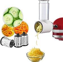 Slicer Shredder Attachment for KitchenAid Stand Mixer, Cofun Salad Maker, Vegetable Slicer, Cheese Grater Attachment for K...