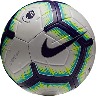 NIKE 2018-2019 EPL Strike Soccer Ball White/Blue/Purple