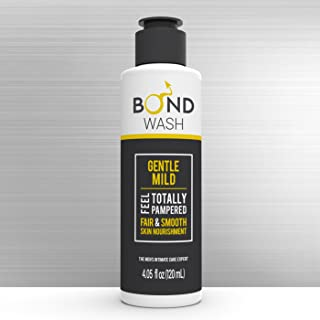BOND MEN'S INTIMATE WASH 4.05 Fl. Oz. (120mL) The Best Hygiene Care Products for Men. Confidence Booster & Good for Daily-use. (Gentle Mild)