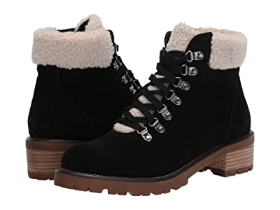 Blondo Melissa Waterproof Lace-Up Boot (Black Suede) Women