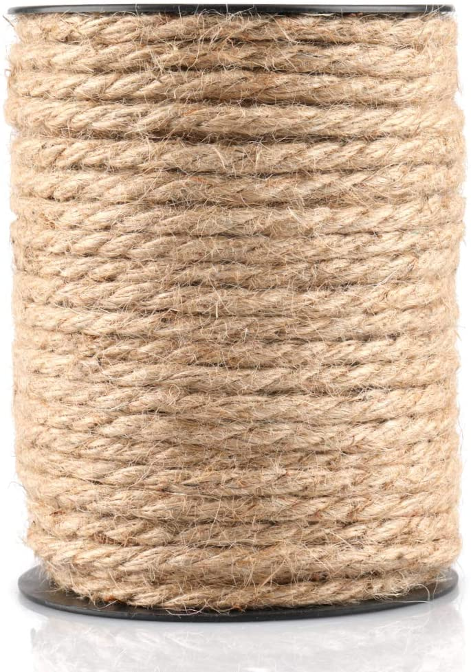 147 Feet 4mm Jute Thick Twine Strong Heavy Dut Over item handling ☆ Fashionable Natural Rope Hemp