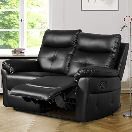 2 Seater Leather Recliner Sofa Amazon Co Uk