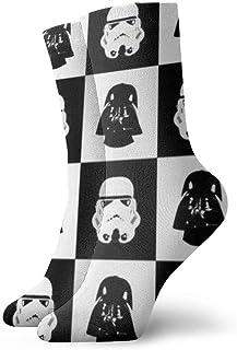 design amusant et amusant d/écontract/é cadeau id/éal. Chaussettes Star Wars pour hommes femmes adolescents et gar/çons confortable