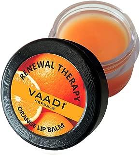Vaadi Herbals Lip Balm, Orange and Shea Butter, 10g