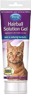 PetAg Hairball Solution Cat Gel, 3.5 oz