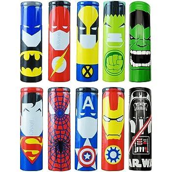 100 stücke 18650 Batterieverpackung PVC Schrumpfschlauch Precut Precut TPI