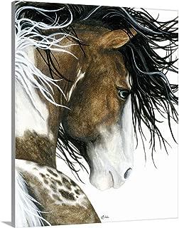 Majestic Pintaloosa Horse Canvas Wall Art Print, 11