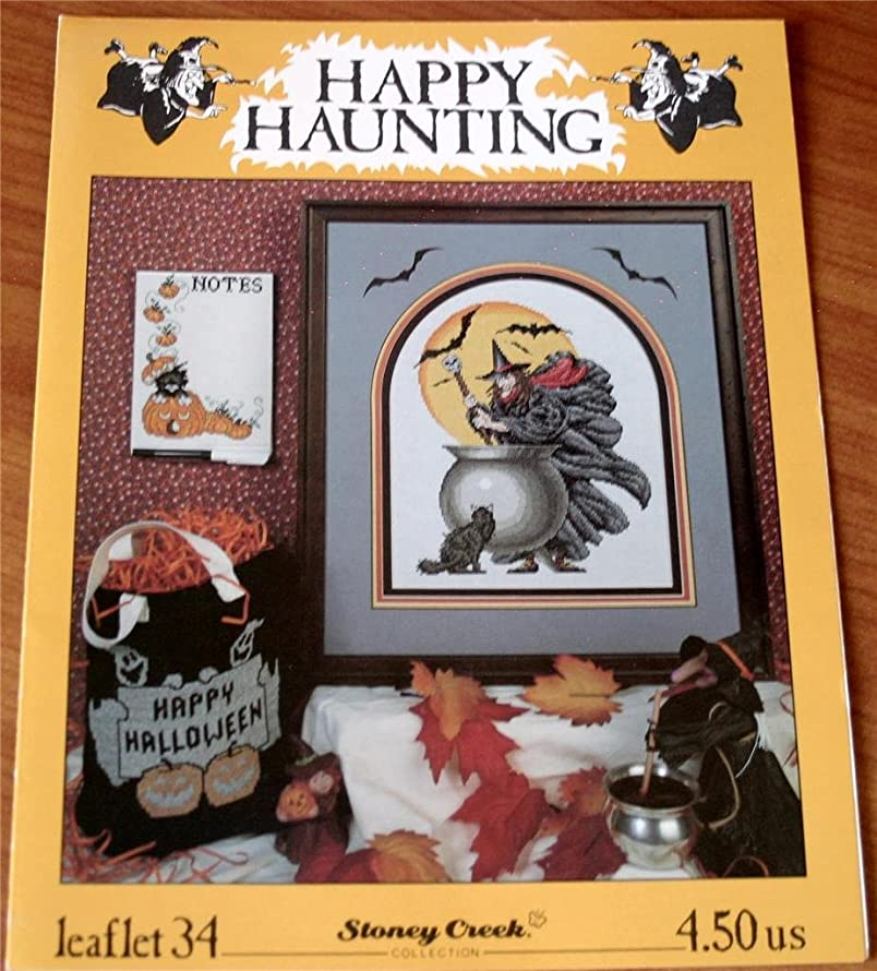 Happy Haunting (Stoney Creek Collection Leaflet 34 Halloween Cross Stitch Patterns)