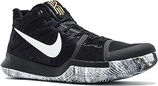 super popular 19ef7 f2294 Nike Mens Kyrie 3 BHM Black White Mesh Size 10.5