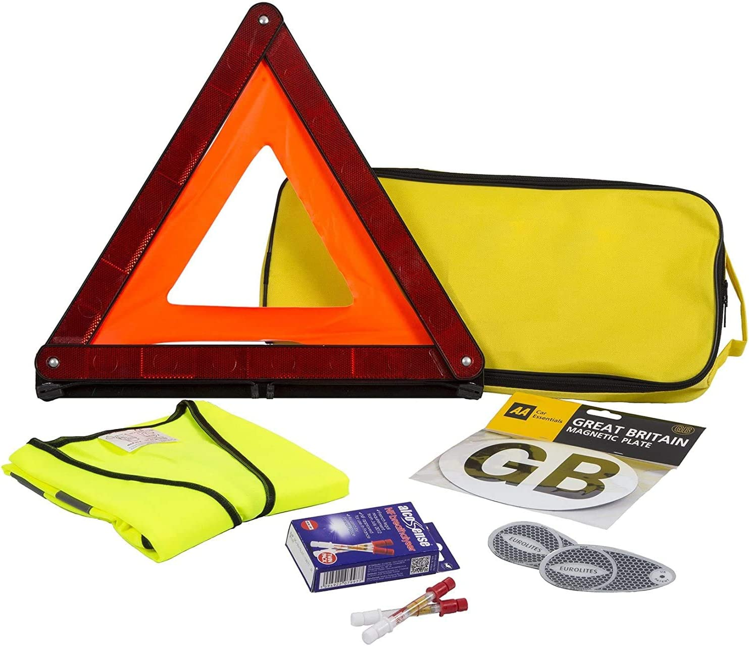 A/&A AA France Travel Kit with Breathalysers