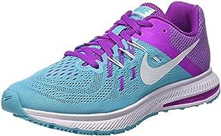 Women's Nike Zoom WINFLO 2,Gamma Blue/White-Hyper Violet,5