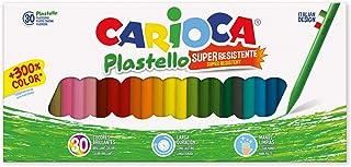 CARIOCA PLASTELLO   42881 - Caja de Plasticeras de Larga Duración, 30 Colores