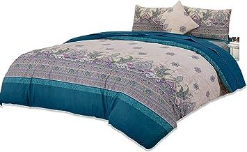 Home Comfort Imprint Luxurious Premium Quality 6 Piece Comforter Set King