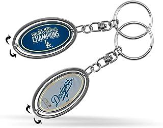 "Rico 2020 Los Angeles ""LA"" Dodgers World Champions Metal Spinner Keychain"
