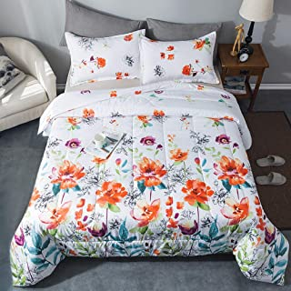 Best augustine floral 7 piece microfiber comforter set Reviews