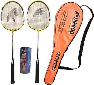 Hipkoo Professional Badminton Set (2 Racket & Pack of 3 Shuttlecocks) Badminton Kit