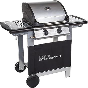 41899 vidaXL Barbecue e Griglia a Gas 4+1 Fornelli Nero
