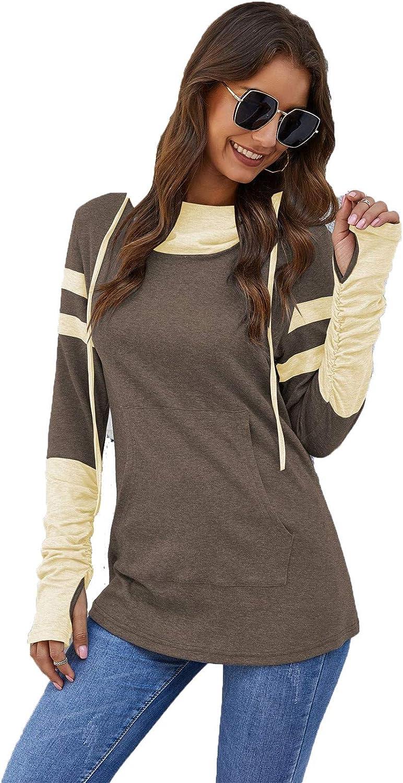 Women's Pullover Long Sleeve Tunic New life Sweatshirt Hoodies War 5 popular Casual