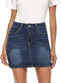 Best high waisted denim skirts Reviews