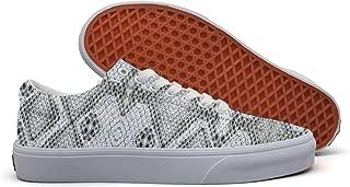 SERXO Snake Skin Case Casual Sneakers Flat Slip On Nursing Vegan