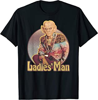 Star Trek DS9 Quark Ladies' Man Retro Graphic T-Shirt