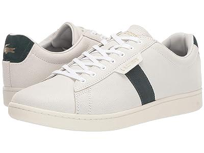 Lacoste Carnaby Evo 319 7 (White/Dark Green) Men
