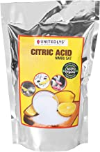 Unitedlys® 100% Pure Citric Acid Powder |Food Grade| |Nimbu Sat | Multiple Purpose| |-380 Grams