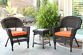 Best jeco outdoor wicker patio furniture end table Reviews