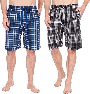 7ba132c31f INSIGNIA Mens Poly Cotton Pyjamas Lounge Short Bottoms Check (2 Pack)