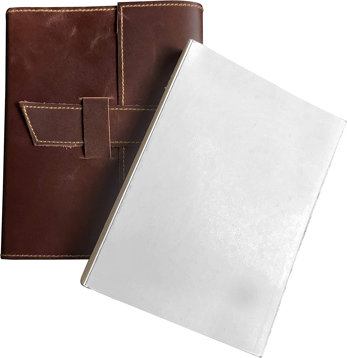 Leather Jorunal and Ranking TOP1 Refill Limited time for free shipping Combo Refillable for Leat - A5