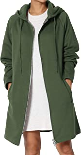 TheMogan S~3X Basic Loose Fit Pocket Pullover Hoodie Long...