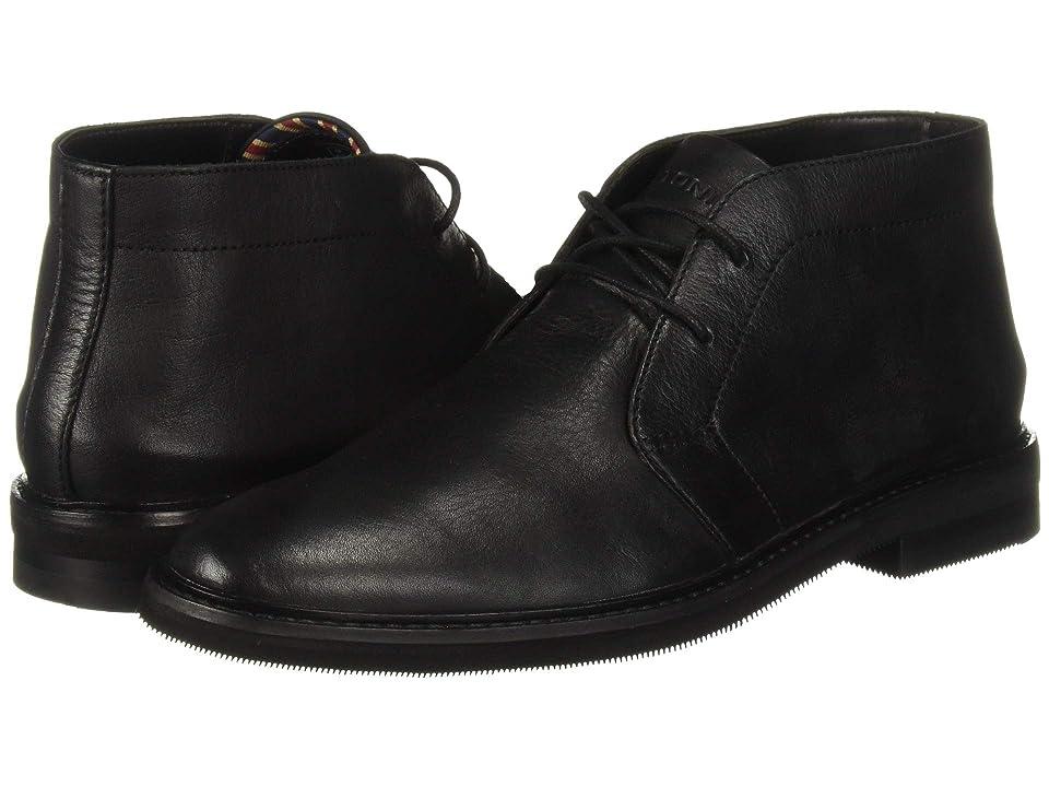 Bostonian Dezmin Mid (Black Leather) Men