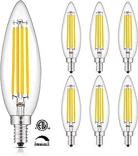 Best 100 watt equivalent led candelabra bulb Reviews