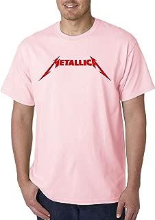 Trendy USA 1331 - Unisex T-Shirt Metallica Metal Rock Band Logo