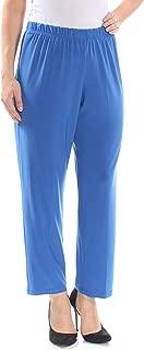Womens Day to Night Dressy Straight Leg Pants