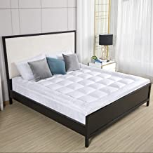 D & G THE DUCK AND GOOSE CO Premium Plush Mattress Topper - Down Alternative Gel-Filled Fiber Quilted Bed Topper 2