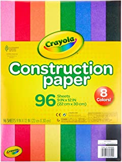 Crayola Construction Paper, School Supplies, 96 ct...