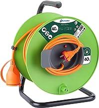 Elektronische kabelhaspel voor tuin, groen 40 M groen
