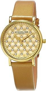 Stuhrling Original Women's 799.03 Symphony Analog Display Swiss Quartz Beige Watch