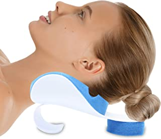 Pivit Neck Support Relaxer   Shoulder Chiropractic Pillow   Cervical Spine Relieve, Neckbone Muscle Tension Reliever   Pressure Relief, Stiff Chronic Pain, Disc Alignment