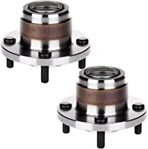 ECCPP Replacement for Pair of 2 New Complete Rear Wheel Hub Bearing Assembly 4 Lugs for 2000-2009 Ford 521002¡Á2