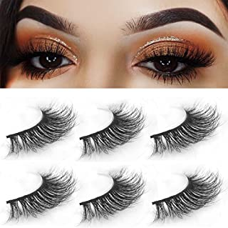 9bd7799222f 3D Mink Fake Eyelashes-Handmade Luxurious 100% Imported Fiber 3D False  Eyelashes Design Natural